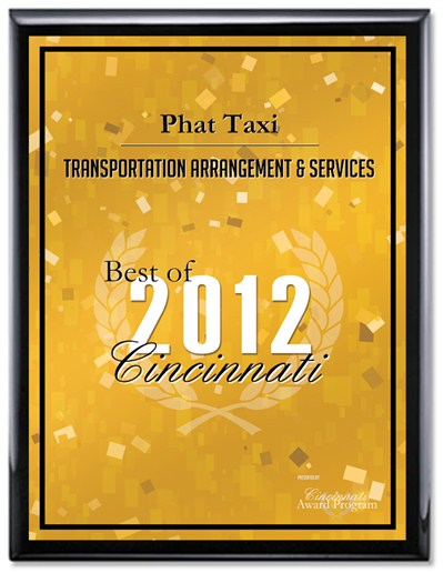 Best of Cincinnati Award 2012